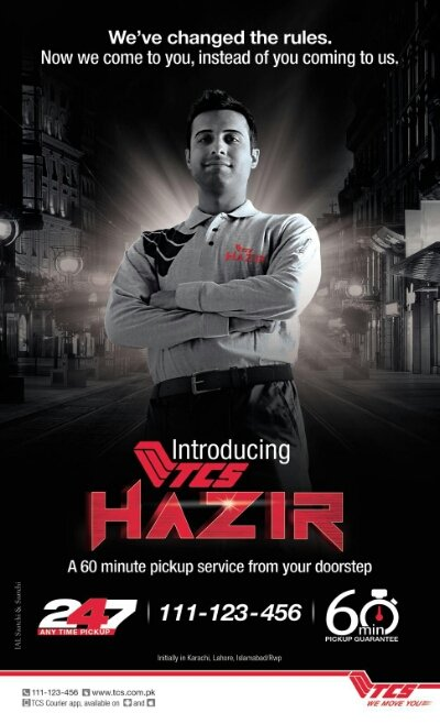 , TCS HAZIR Service: Courier Pick Parcels from your Home