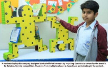 , Out of the box: Primary School Students Make Impressive Projects out of Cartons