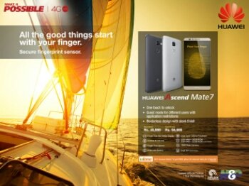 , Huawei Ascend Mate 7 Smartphone Launched in Pakistan