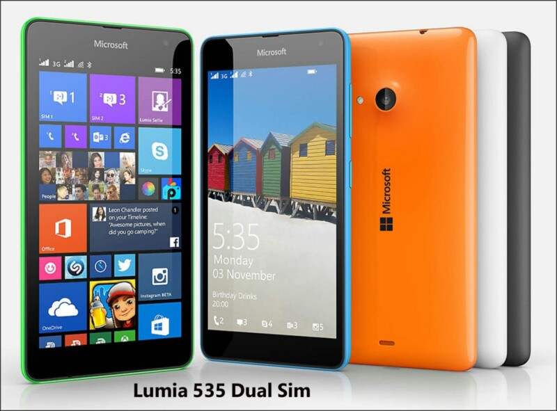 , Lumia 535 Dual SIM Launched in Pakistan
