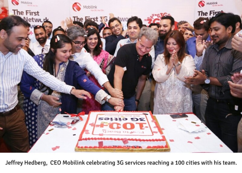, Mobilink 3G Available in 100 Cities Across Pakistan
