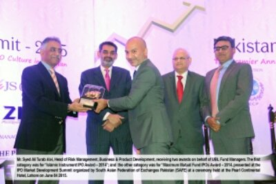 awards, banks,cppi, ipo, ipo instruments, ubl, ubl awards, ubl funds, ubl Islamic, UBL Funds Bags Two Awards at the IPO Market Development Summit