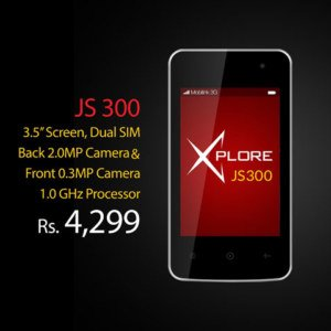 Mobilink Jazz X JS300 Price & Specifications