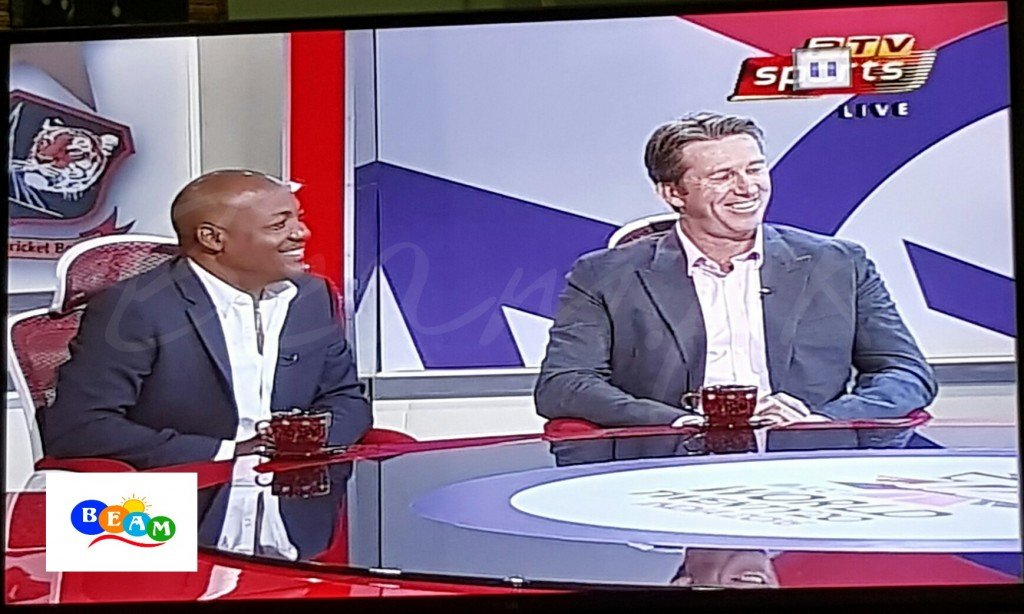 Lara, McGrath PTV sports