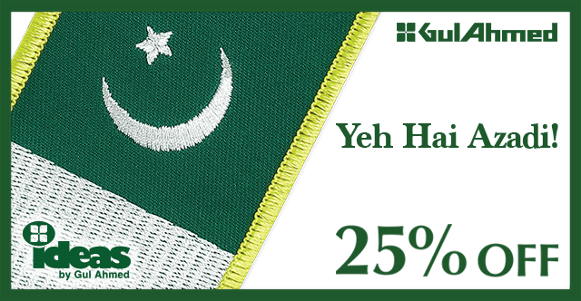 Gul Ahmed Azadi sale