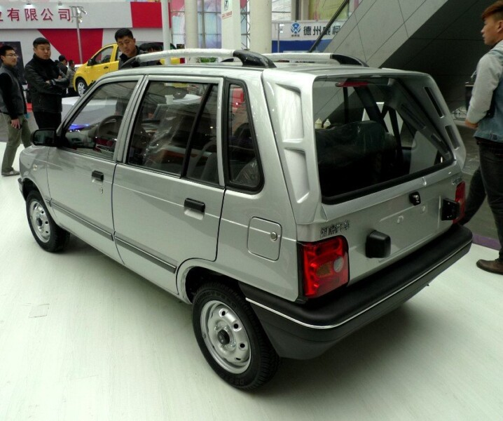 car, China's Mehran car at cheapest rate. Fake or Real?