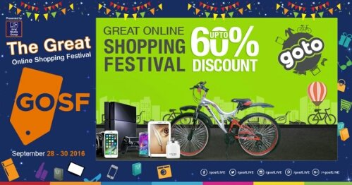 #GOSFPK, GOSF Online Shopping Sale & Deals September 2016