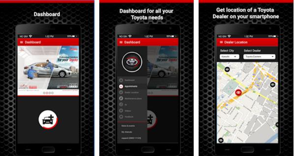 Indus, Indus Motor Launched Toyota IMC Pakistan Mobile App