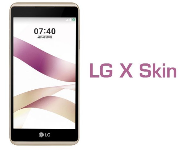 LG X Skin Price & Specifications