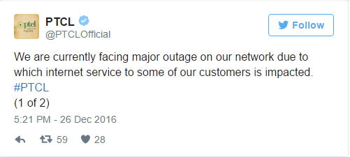 services, PTCL And Ufone Services Down Due to Technical Faults