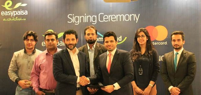 Easypaisa HomeSend Signing Ceremony, Easypaisa HomeSend Signing Ceremony in Karachi