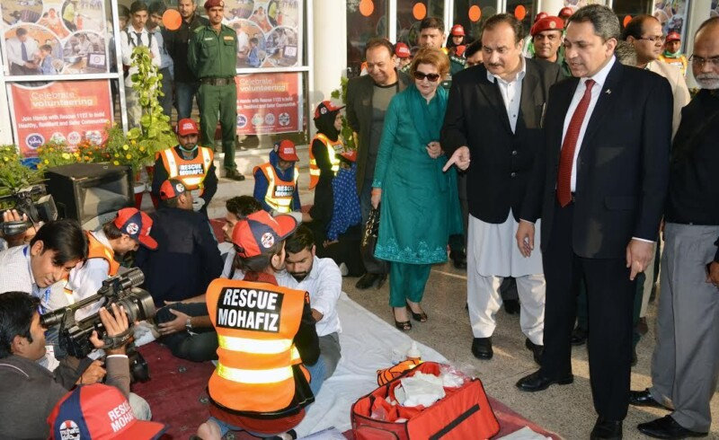 Rescue 1122, Rescue 1122 Launches Bike Service For Emergencies in Punjab