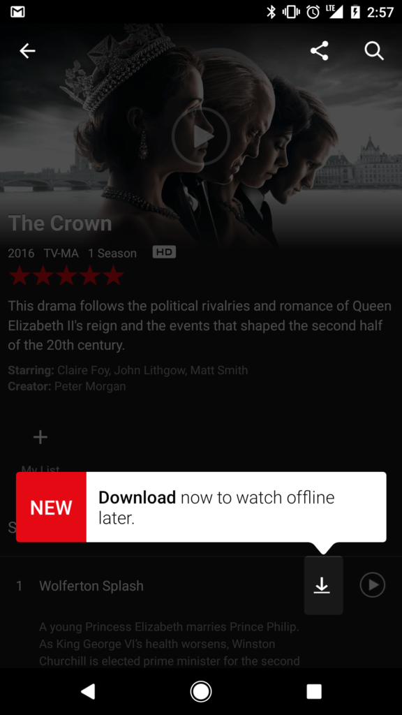 netflix, Netflix Now Let's You Download Your Favourite Shows For 'Offline Viewing'