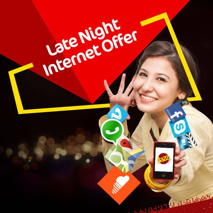 Jazz 4G LTE, Jazz 4G LTE Internet Packages