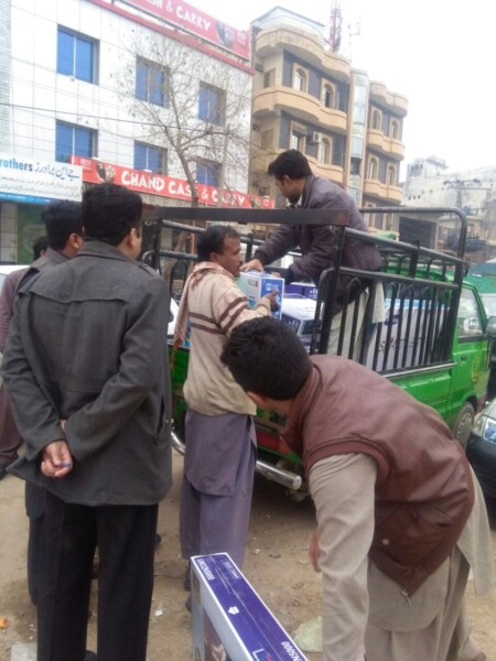 Fake TV's, Law enforcement agencies Raids on Fake TV's and LED's