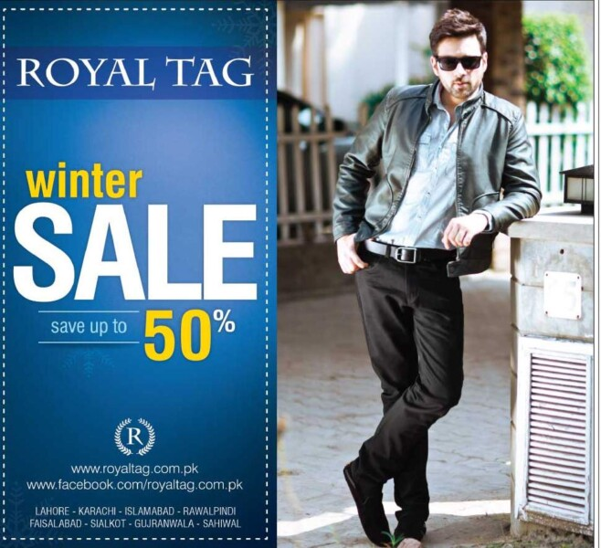 Outfitters, Outfitters, BreakOut, Royal Tag, Bonanza Winter Sale 2017