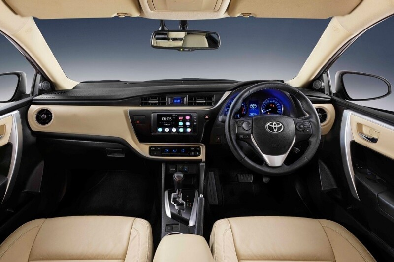 Toyota Corolla Altis, What's New in Toyota Corolla Altis 2017