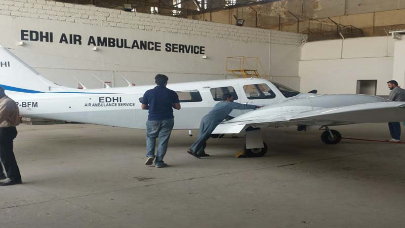 Faisal Edhi, head of Edhi Foundation and son of late philanthropist Abdul Sattar Edhi, has announced the relaunch of Edhi Air Ambulance Service.