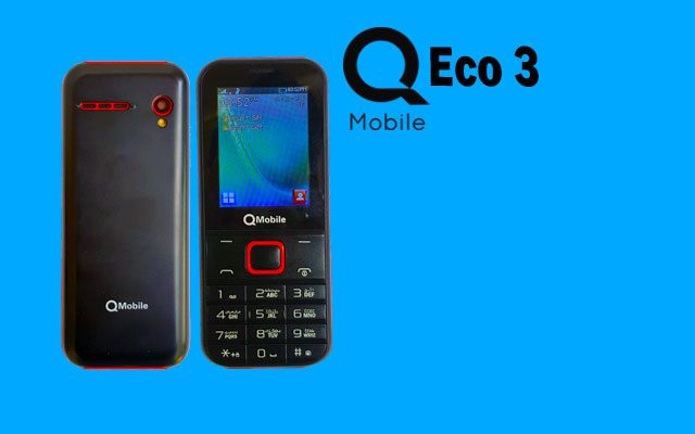Eco 3, QMobile Eco 3 Launched with 1800 mAh Battery