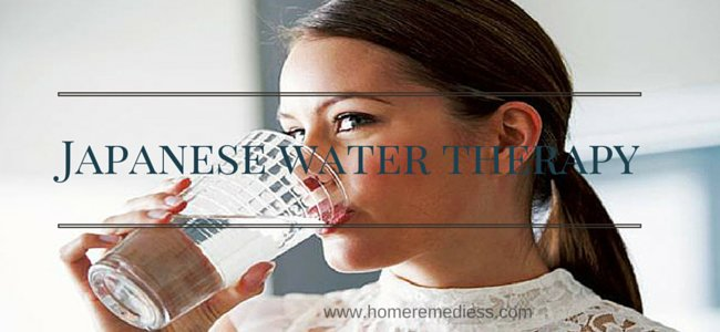 therapy, Japanese Water Therapy: Natural Treatment of 99% Diseases