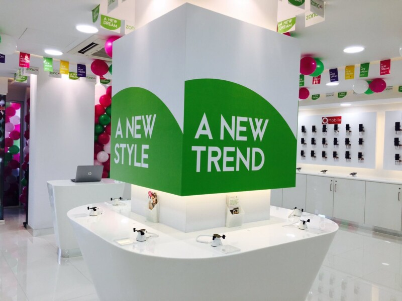 Concept, Zong Launched Karachi's First Concept Store