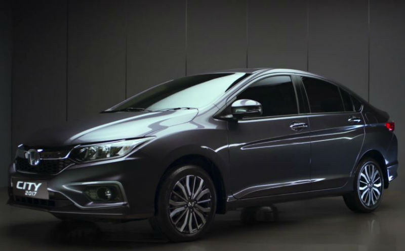 2017, The Honda City 2017 officially launched in Pakistan