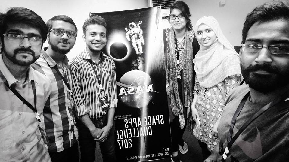 NASA Space Apps Challenge, Students of NUST Win NASA Space Apps Challenge Islamabad 2017 and get Nominated for Global Award