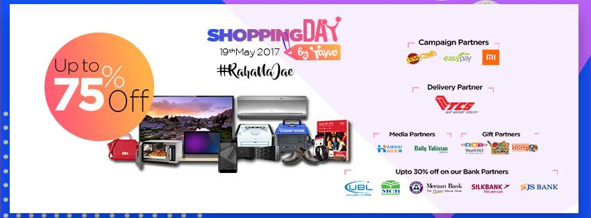 Day, Yayvo to Celebrate Shopping Day on 19th May