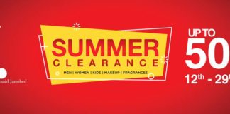 J.J & Almirah 50% Off Summer Clearance Sale 2017