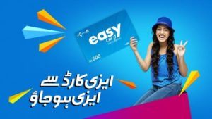 Easy Card, Telenor EasyCard of Rs.170, Rs.350 and Rs.600| Complete Details