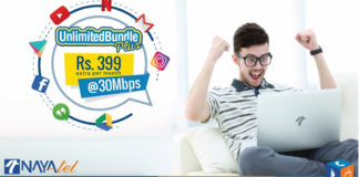 Now get Nayatel 30Mbps Unlimited Internet Bundle for Video Streaming
