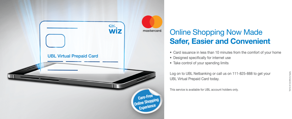 WIZ, UBL launched UBL WIZ Virtual Prepaid Card