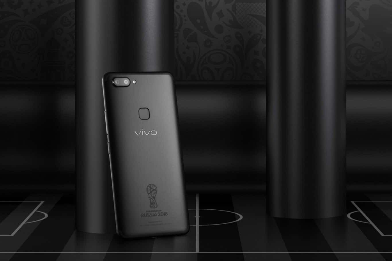 X20, Vivo Unveils Special Edition of X20 Smartphone for 2018 FIFA World Cup