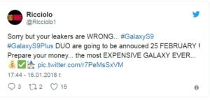 S9 and S9+, Samsung S9 and S9+ Expected to be the Most Expensive Galaxy Ever