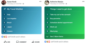 "lists, Facebook is going to Update Status by ""Lists"" Feature"