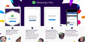 "messenger kids, Facebook Announces ""Messenger Kids"" for Android Users"