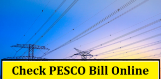check pesco bill online