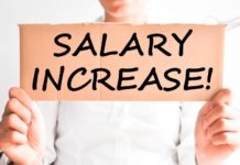 salaries increased