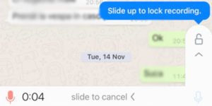 , Whatsapp Updates its Voice Recording Feature
