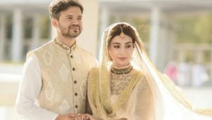 Ayesha Khan Nikah, Ayesha Khan Nikah Ceremony held at Faisal Masjid