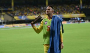 IPL, IPL 2018 Match Spectators throw shoes on player during match