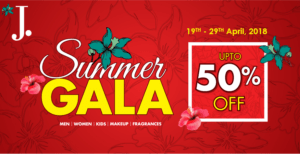 Summer sale 2018, Best Summer Sale 2018 – AlKaram, Junaid Jamshed and Warda