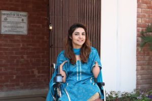 Disable, First Disable Pakistani MBBS Lady Doctor (Motivational Personality)