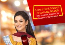 JazzCash Bank Deposit