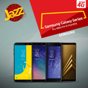 Handset Partnership, Jazz & Samsung Handset Partnership 2018| Enjoy 4G/LTE