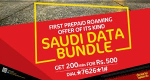 Saudi Data Bundle, Jazz Saudi Data Bundle (Hajj & Umrah Service) 2019| For Prepaid Customers