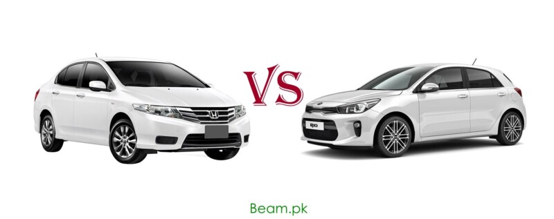 Honda City vs KIA Rio in Pakistan: Price, Specifications and Comparison