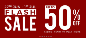 Gul Ahmed Summer Sale 2018