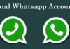 Double WhatsApp Accounts