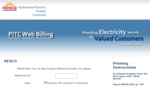 HESCO Online Bill, How to Check, Print & Download HESCO Online Bill – Details